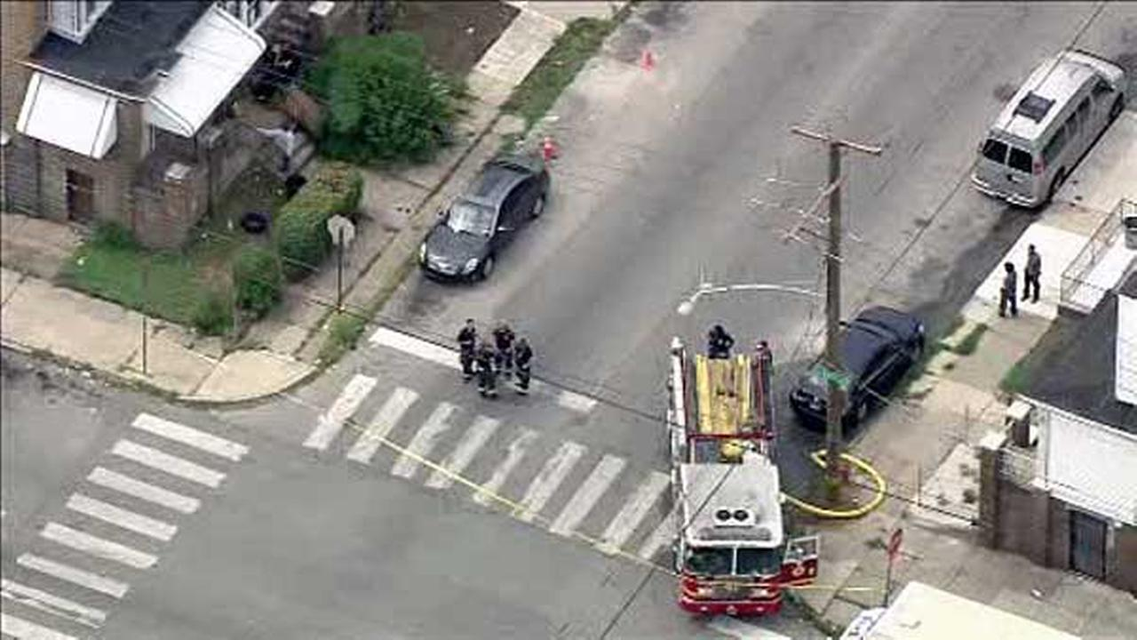 PGW crews are on the scene of a reported gas leak in Southwest Philadelphia.