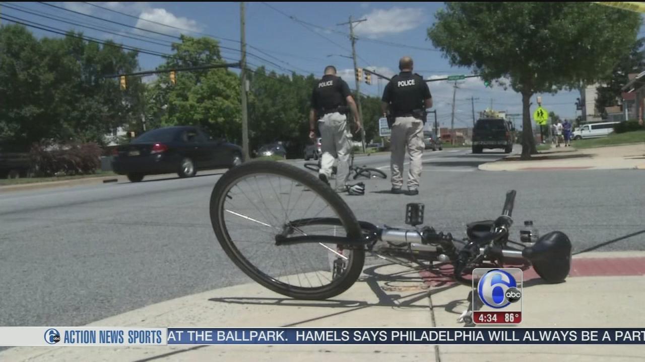 VIDEO: Bicycles collide in Delaware