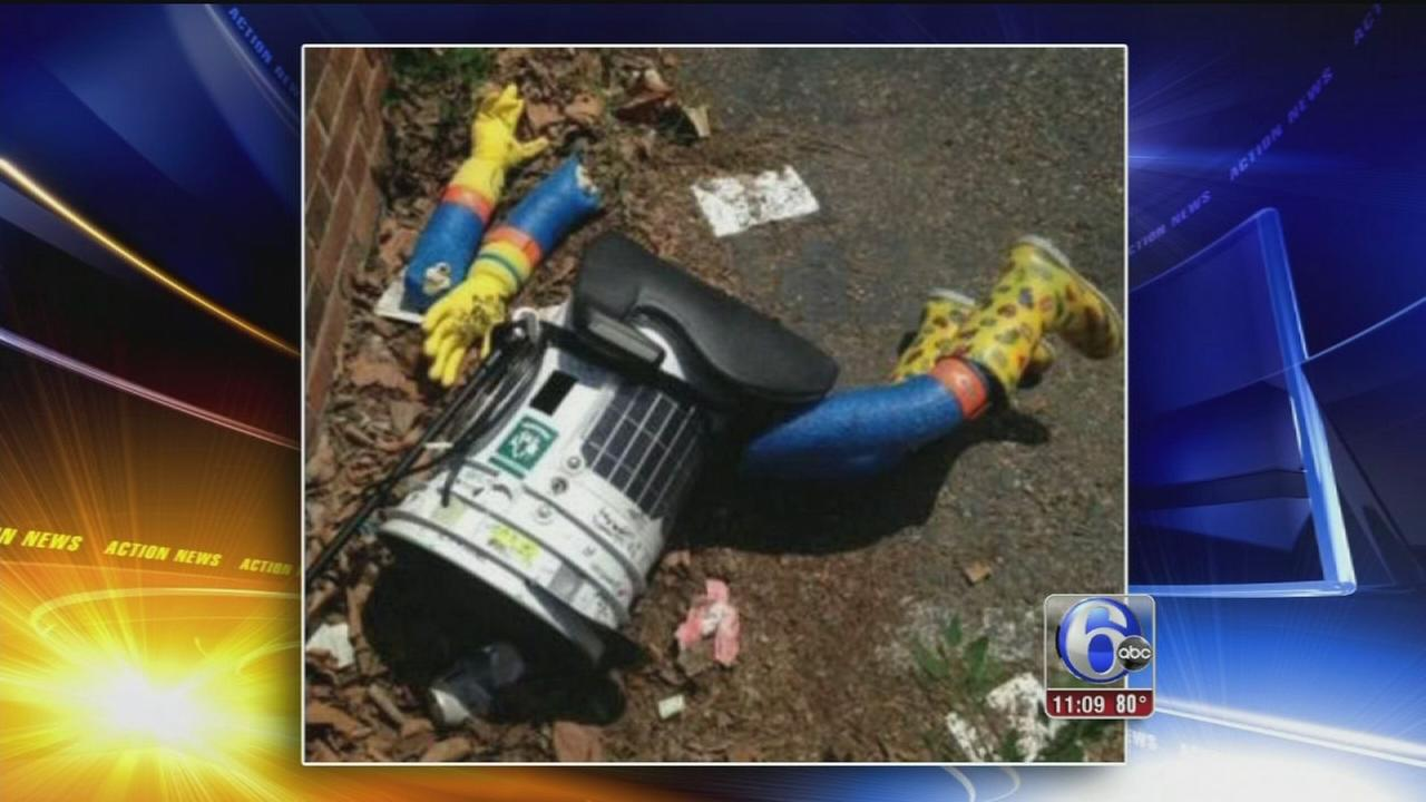 VIDEO: Hitchhiking robots cross-country trip ends in Philly