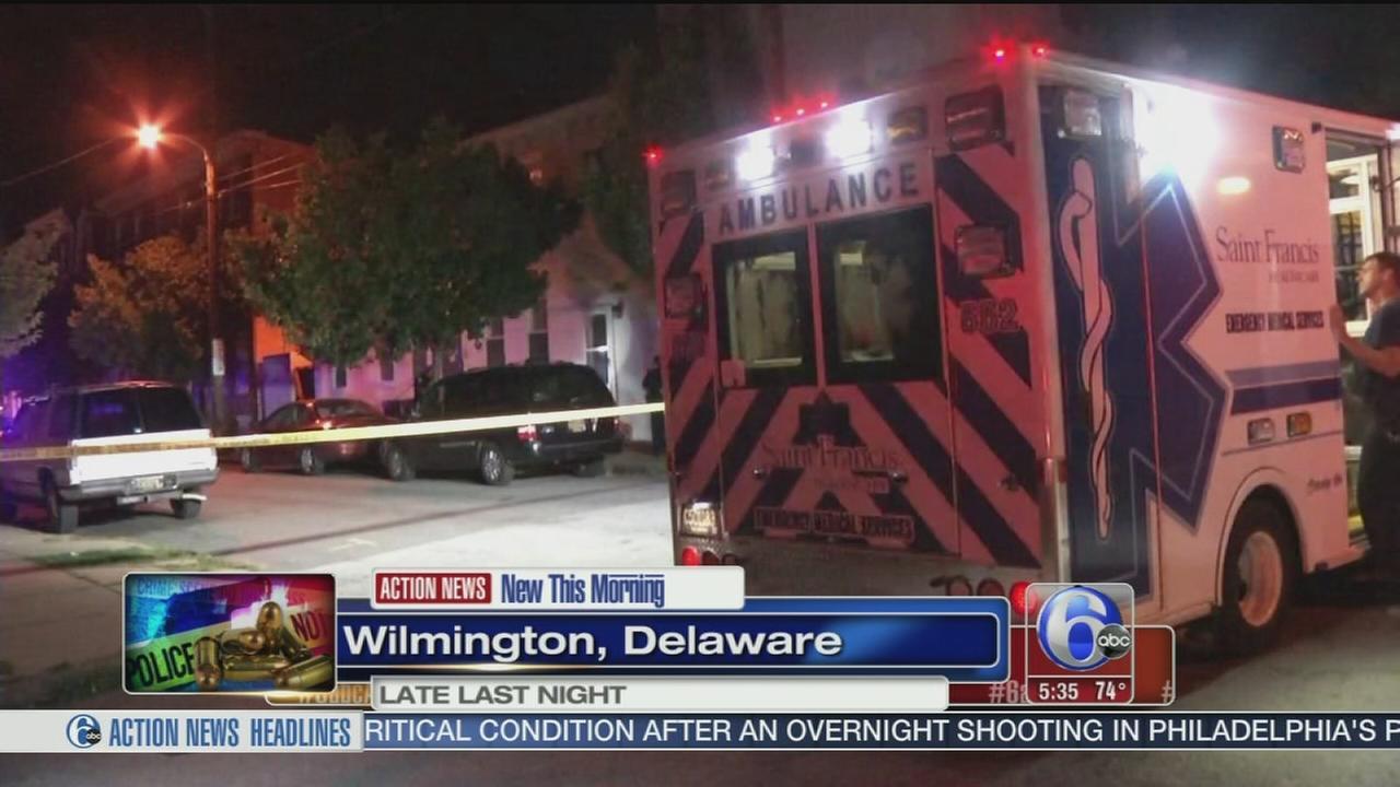 VIDEO: Teen shot in Wilmington, Del.