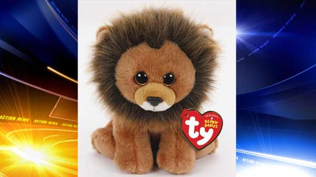 Toy-maker Ty Inc. has created a Cecil the Lion Beanie Baby to raise funds for animal conservation efforts.