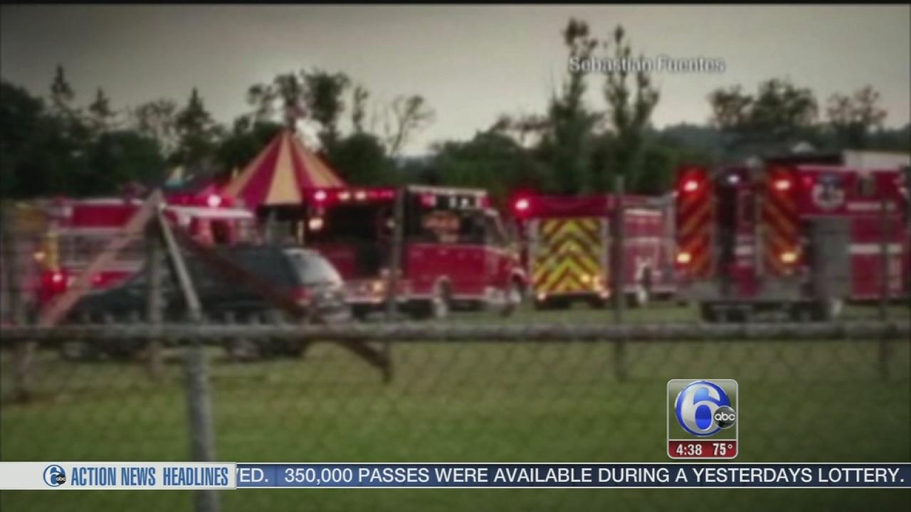VIDEO: Circus tent collapse killed 2 in New Hampshire