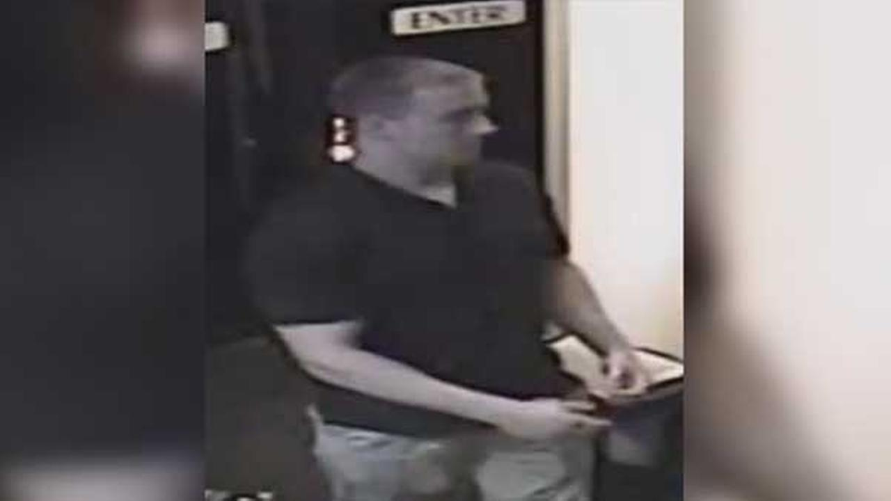 Philadelphia police are searching for a suspect who assaulted two men outside of a club in the citys Pennsport section.
