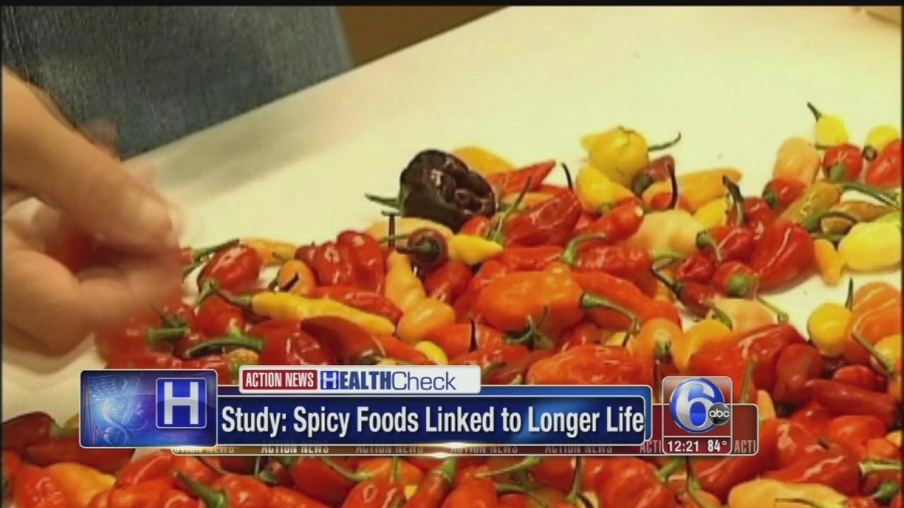 VIDEO: Spicy foods linked to longer life