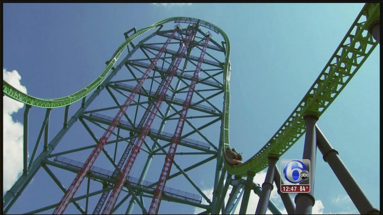 VIDEO: Six Flags Great Adventure