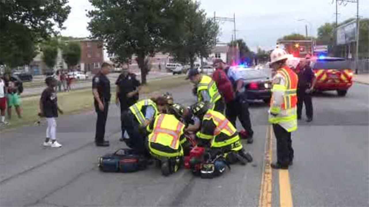 Biker thrown from motorcycle after crash in Wilmington