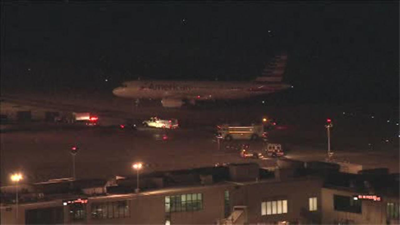 Engine issue prompts emergency landing at Philadelphia International Airport