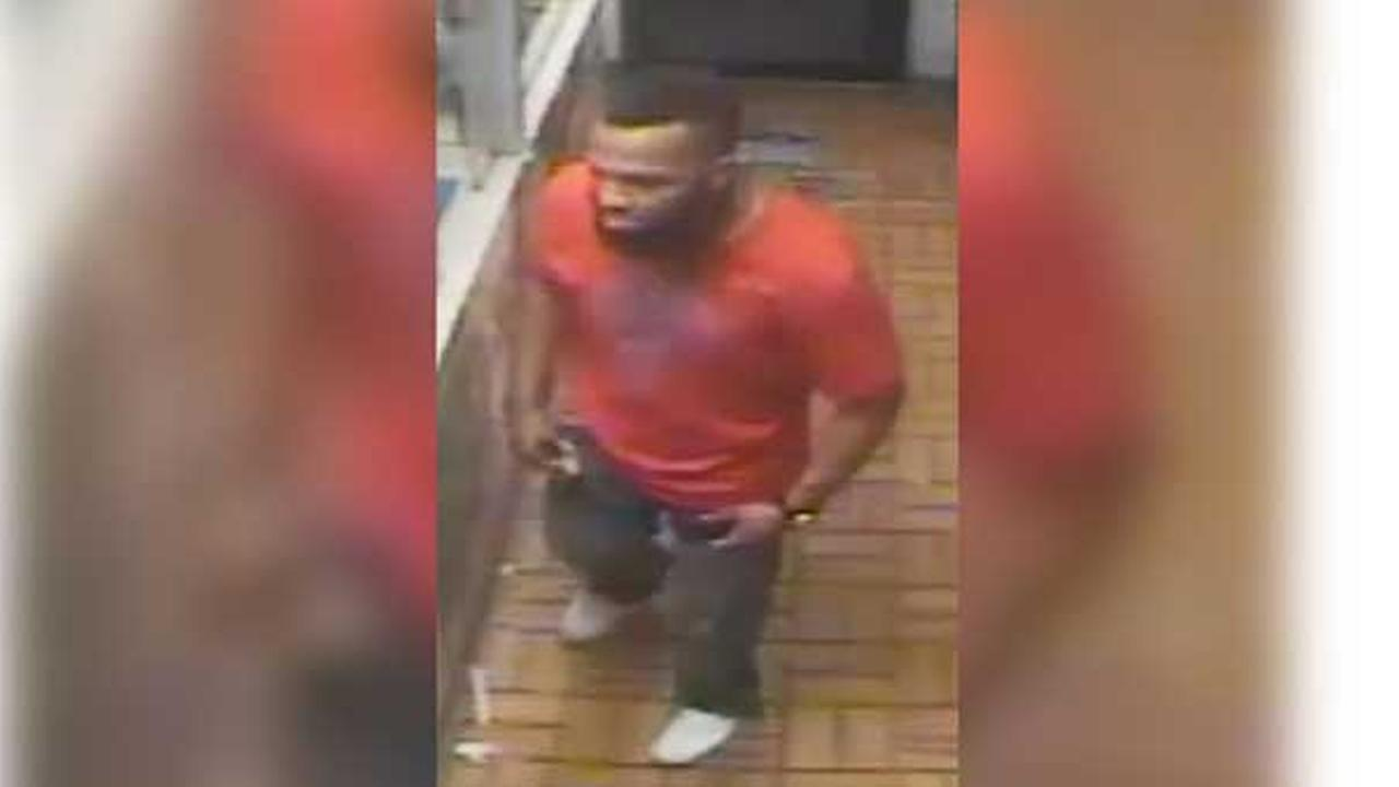 Philadelphia police are searching for a suspect who robbed a deli in the citys Germantown section.