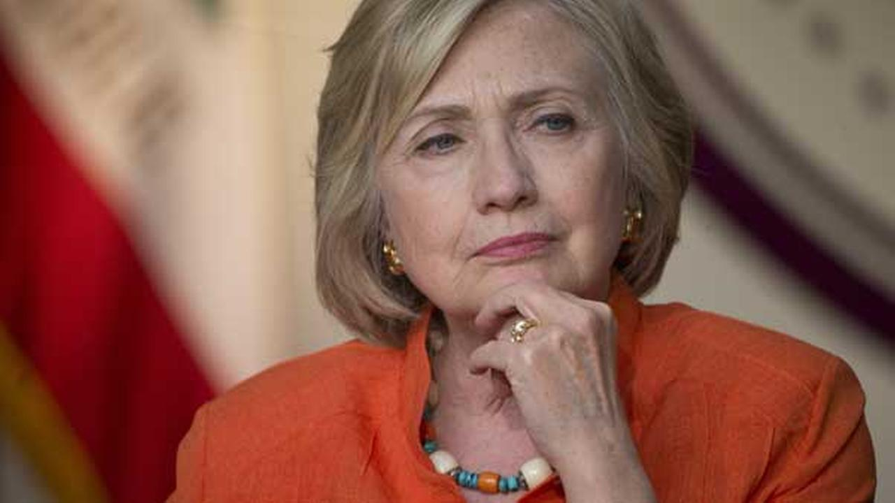 Democratic presidential candidate Hillary Rodham Clinton listens during a roundtable discussion, Thursday, Aug. 6, 2015, in Los Angeles.