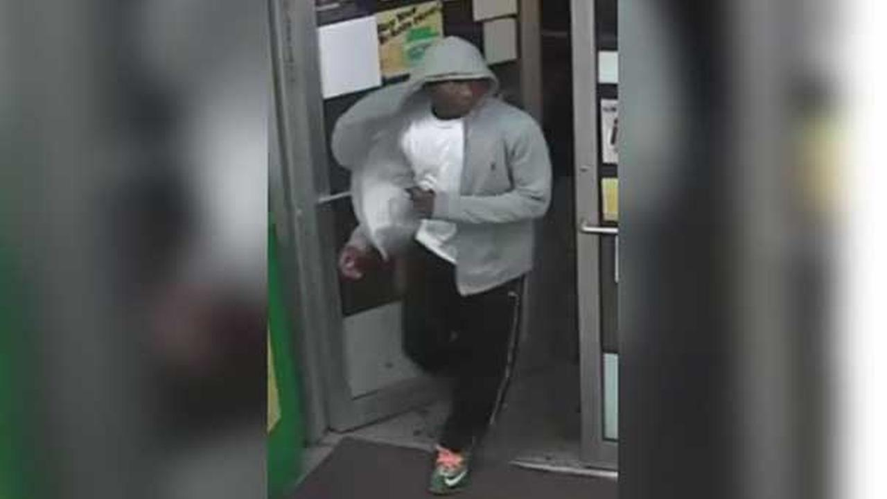 Philadelphia police are looking for a suspect who robbed a teenage boy at gunpoint in the citys Overbrook section.