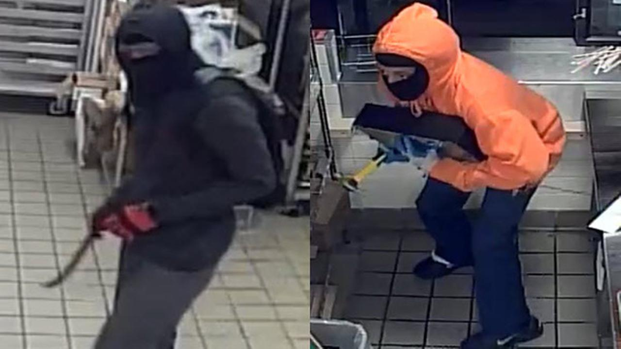 Duo sought in multiple Dunkin' Donut robberies