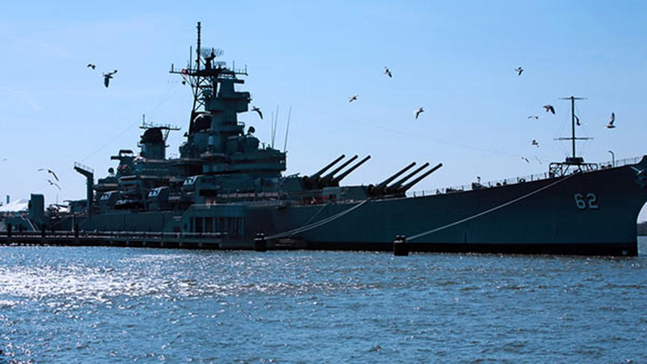 Battleship New Jersey becomes hotel for pope's visit ...