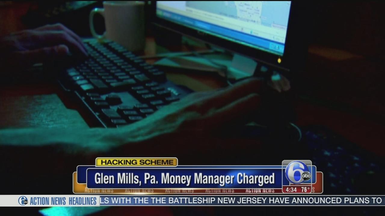 VIDEO: Glen Mills money manger charged