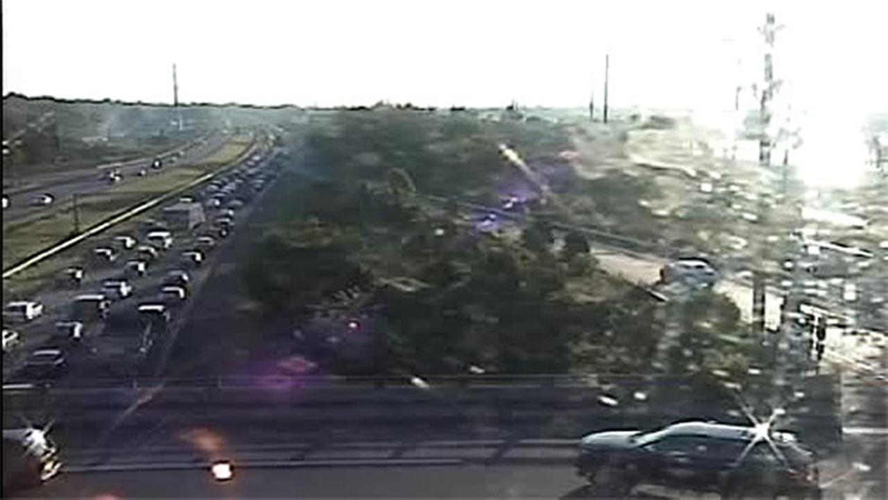 Crash on I-95 North cleared after jamming traffic in Bucks County