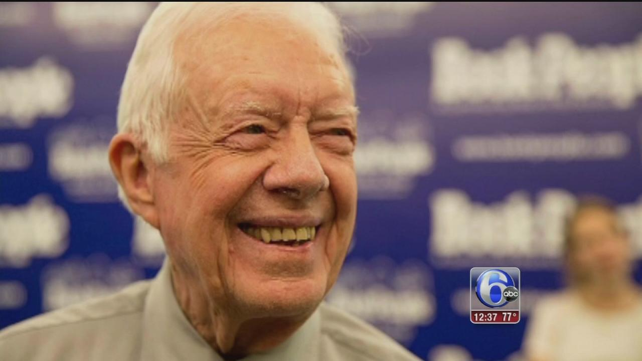 VIDEO:Former U.S. President Jimmy Carter says he has cancer
