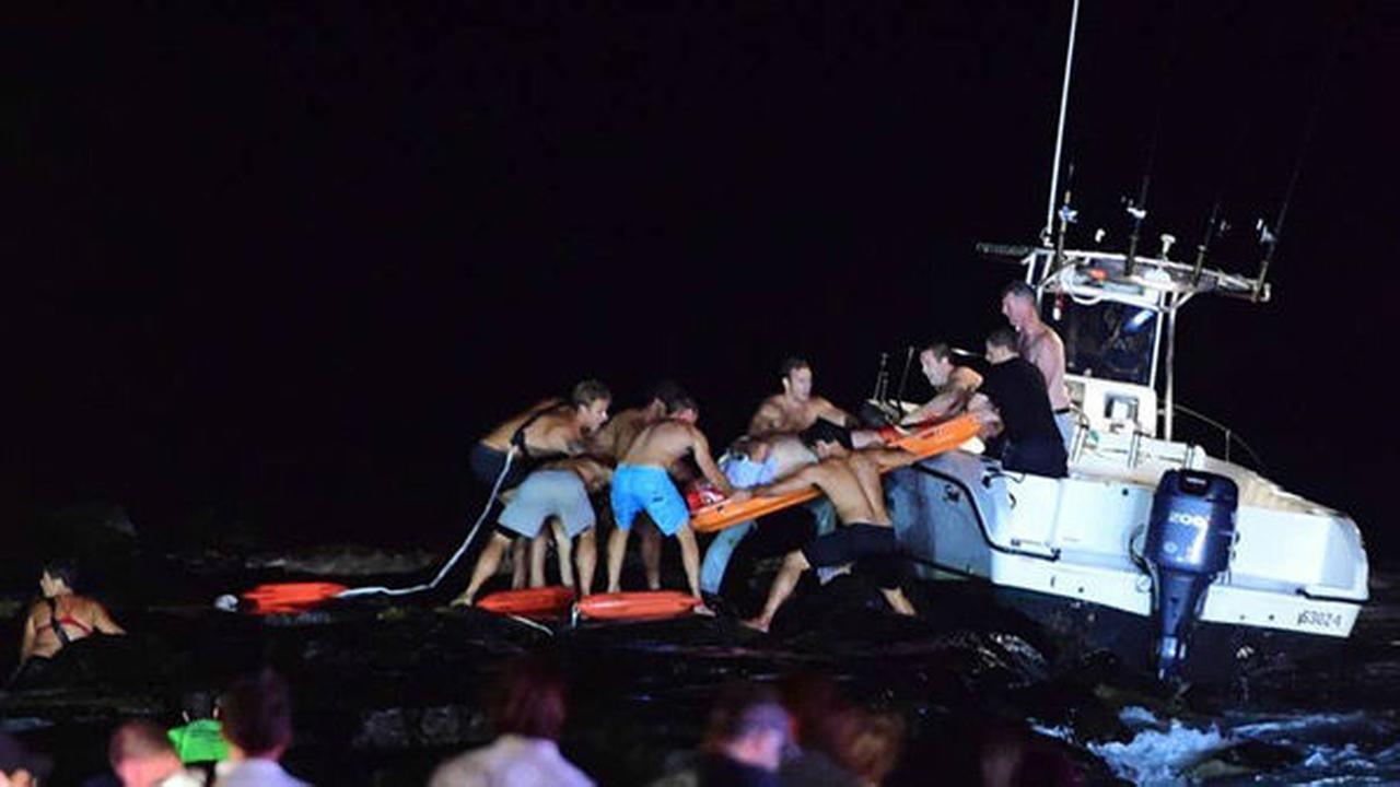 PHOTOS: Rescue at Jersey Shore
