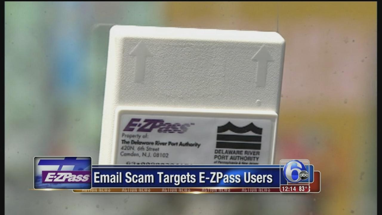 VIDEO: E-mail scam targets E-Z Pass users