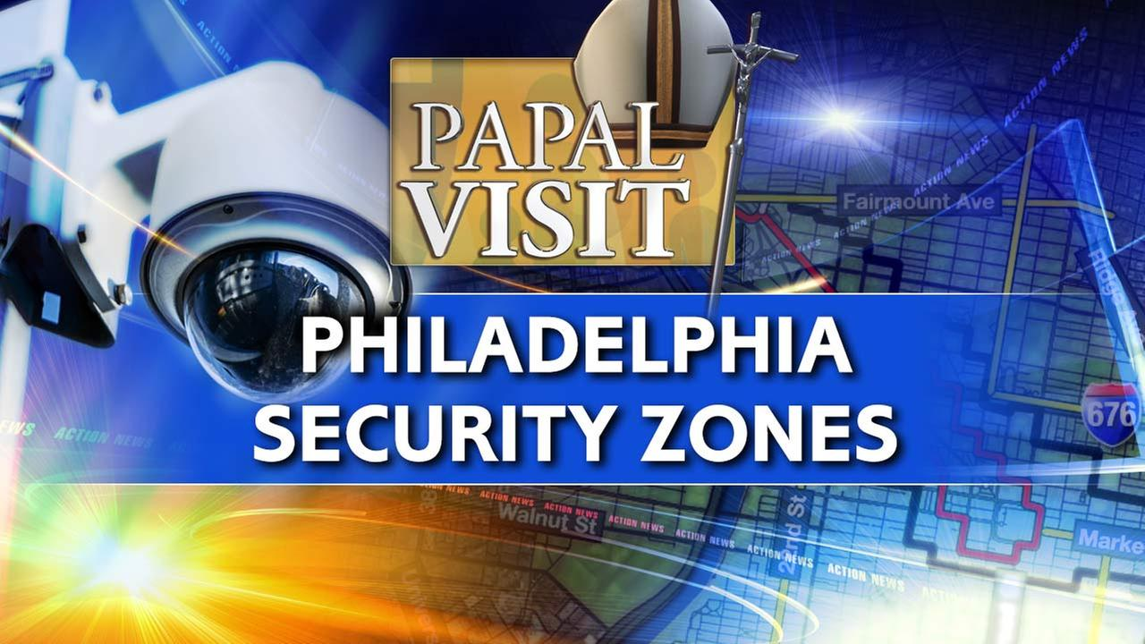 Security zones, Philly gov't and school closures for papal visit
