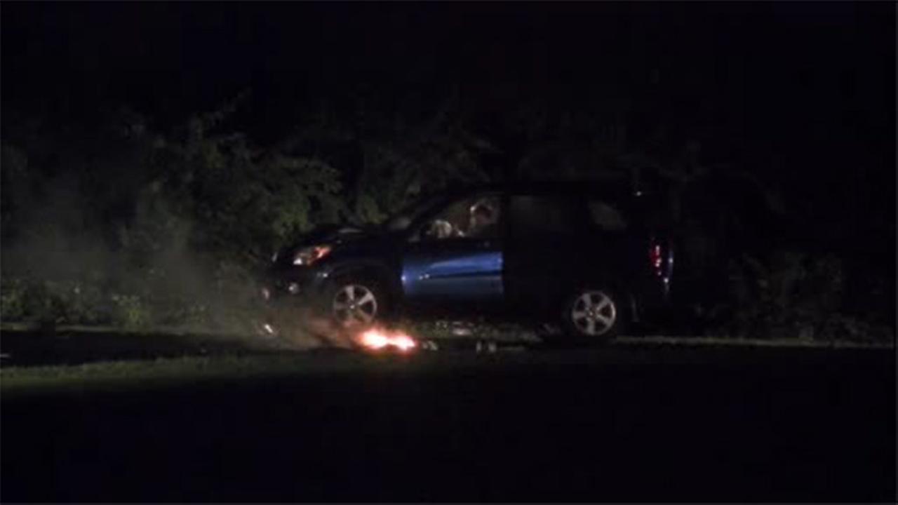 Driver loses control, crashes into utility pole in Montco