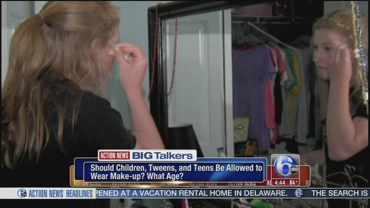 VIDEO: Children and makeup