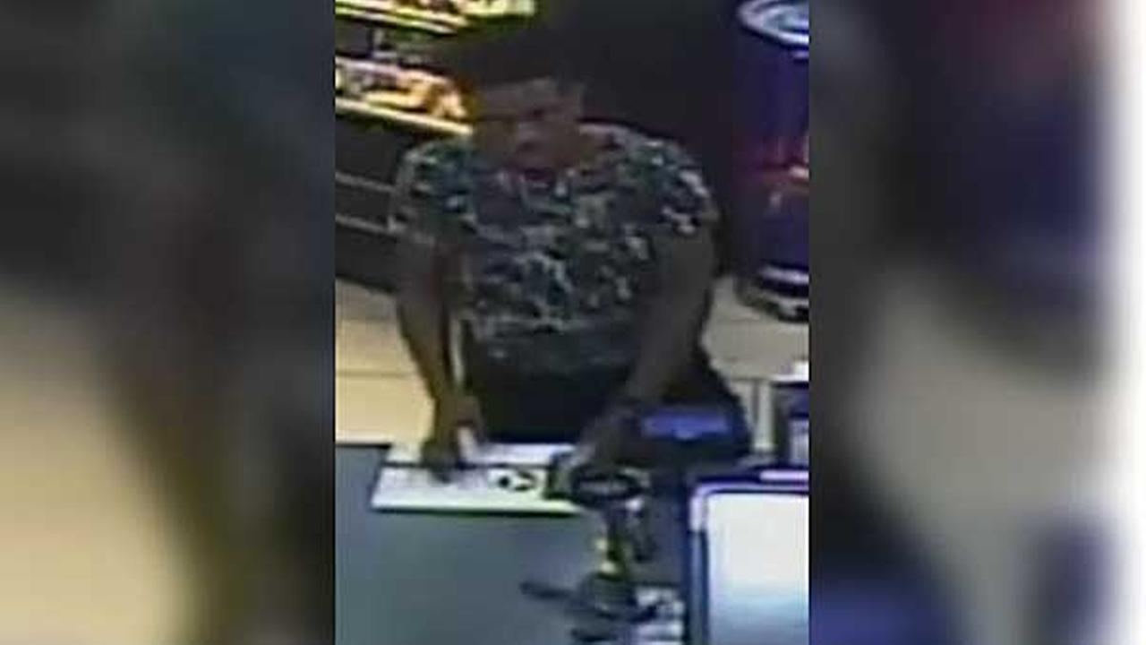 Philadelphia police are looking for a man who robbed a 7-Eleven store in Center City.