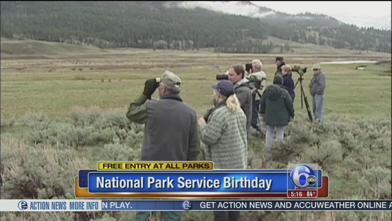 Park Service turns 99, park entry free