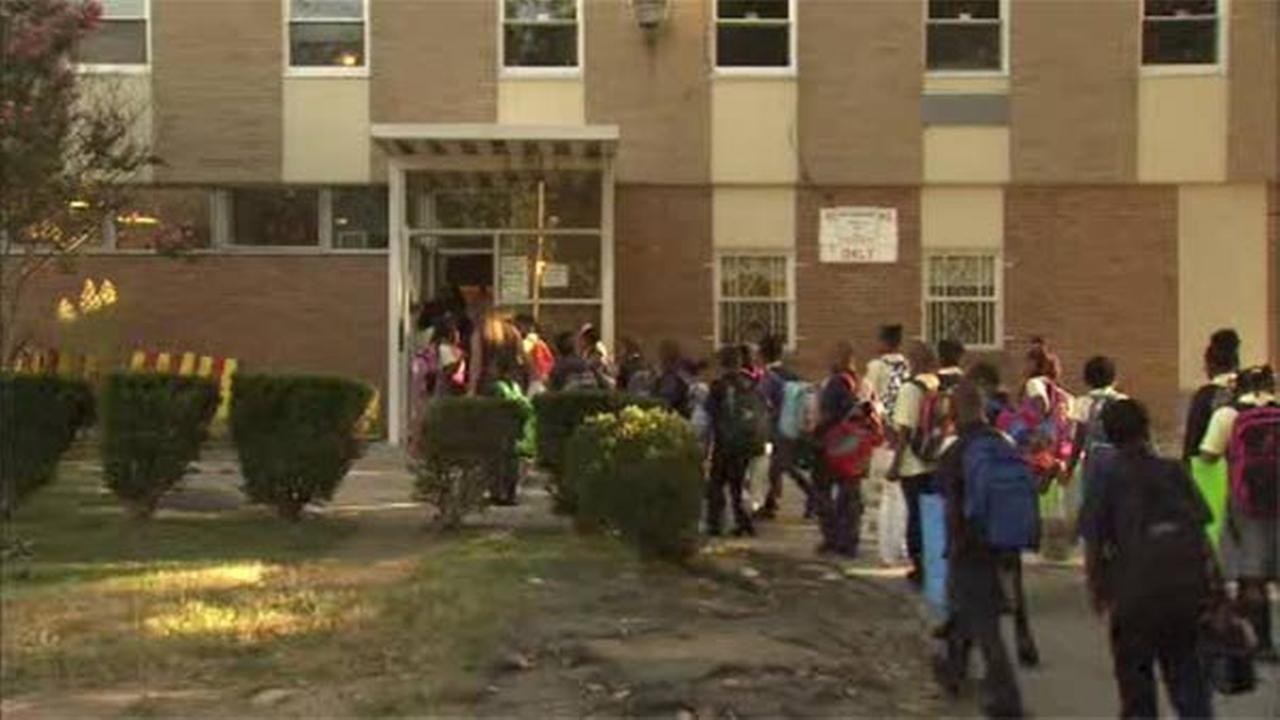 Hundreds of students return to school in West Philadelphia