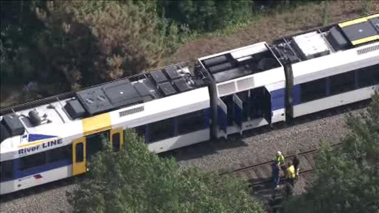60 passengers removed from River Line train due to smoke