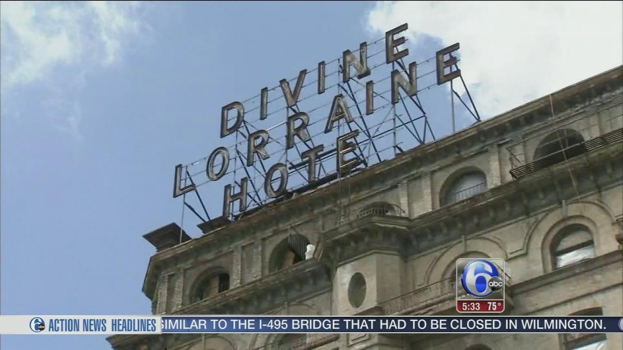 VIDEO: Redevelopment underway at the Divine Lorraine Hotel