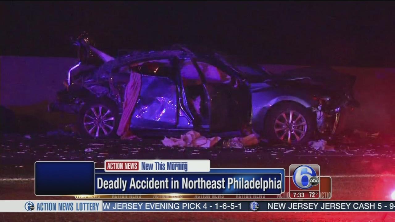 VIDEO: DUI suspected in deadly NE Phila. crash
