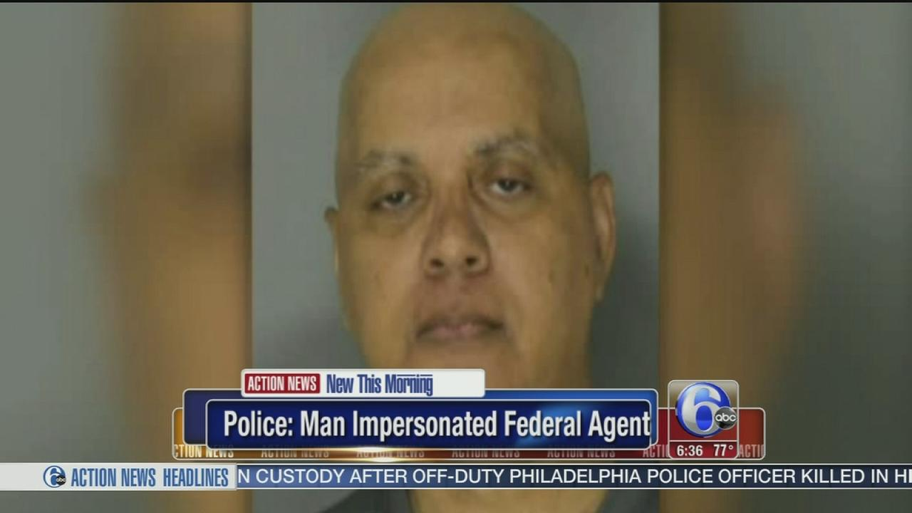 VIDEO: Man posed as federal agent, police say