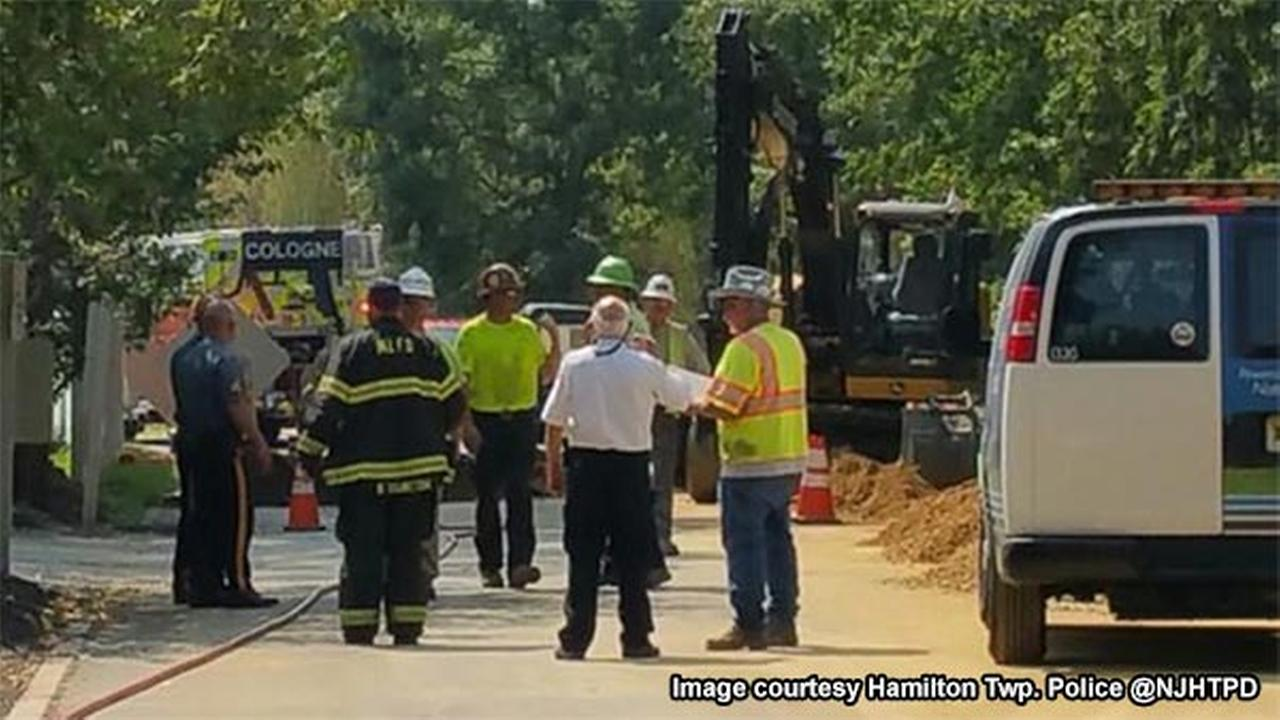 Gas leak prompts evacuations in Hamilton Twp., Atlantic Co.