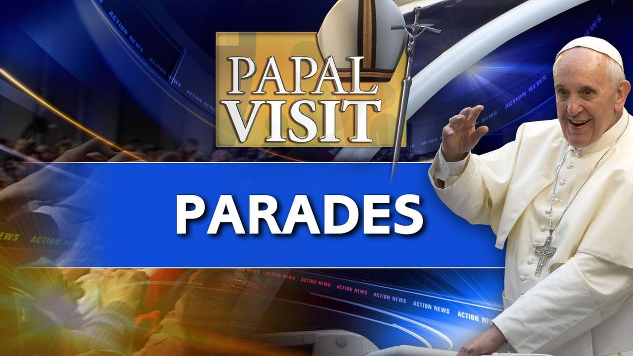 Pope Francis to participate in 2 parades during Philly visit