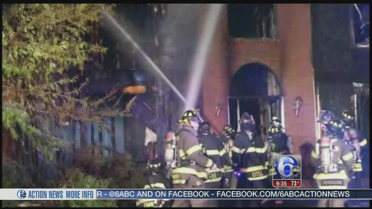 VIDEO:  Fire forces family from Mercer Co. home