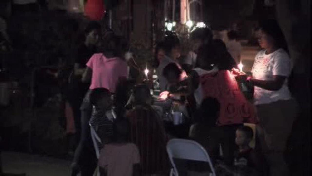 Vigil held for man killed outside TLA on South Street