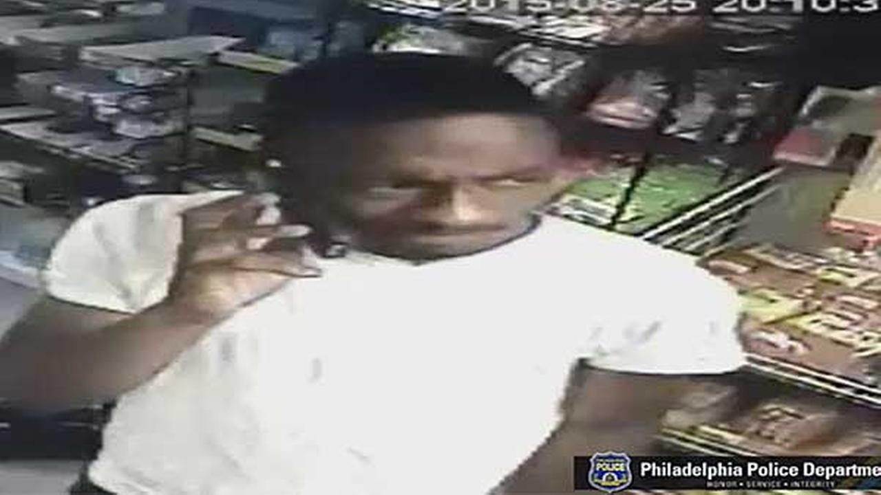 Philadelphia police are looking for a suspect who robbed a deli at gunpoint in the citys Olney section.