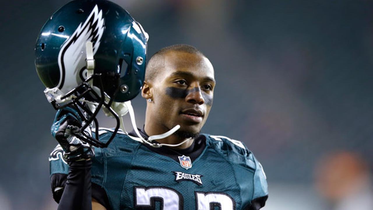 Philadelphia Eagles Brandon Boykin warms up before an NFL wild-card playoff football game against the New Orleans Saints, Saturday, Jan. 4, 2014, in Philadelphia.