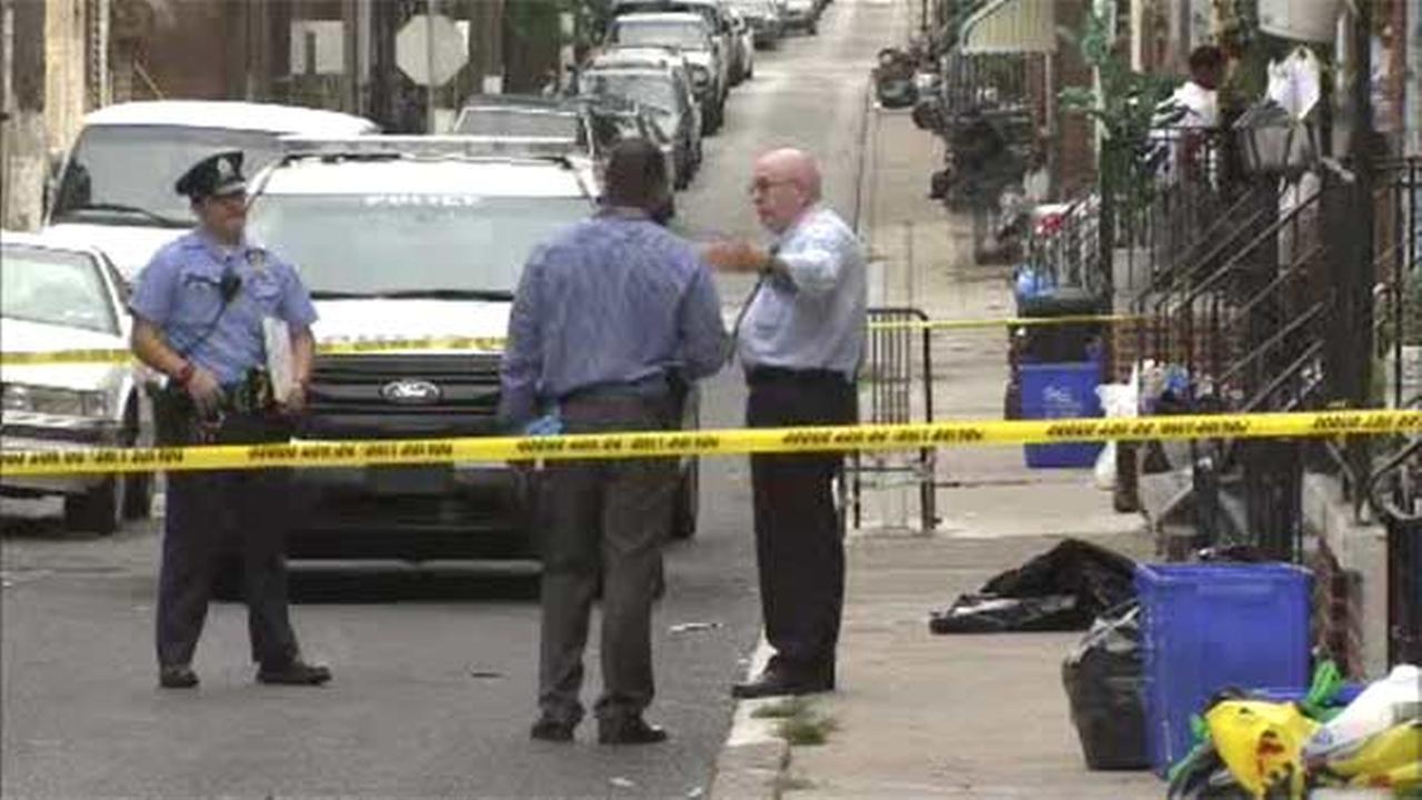 Man found shot on street in North Philadelphia