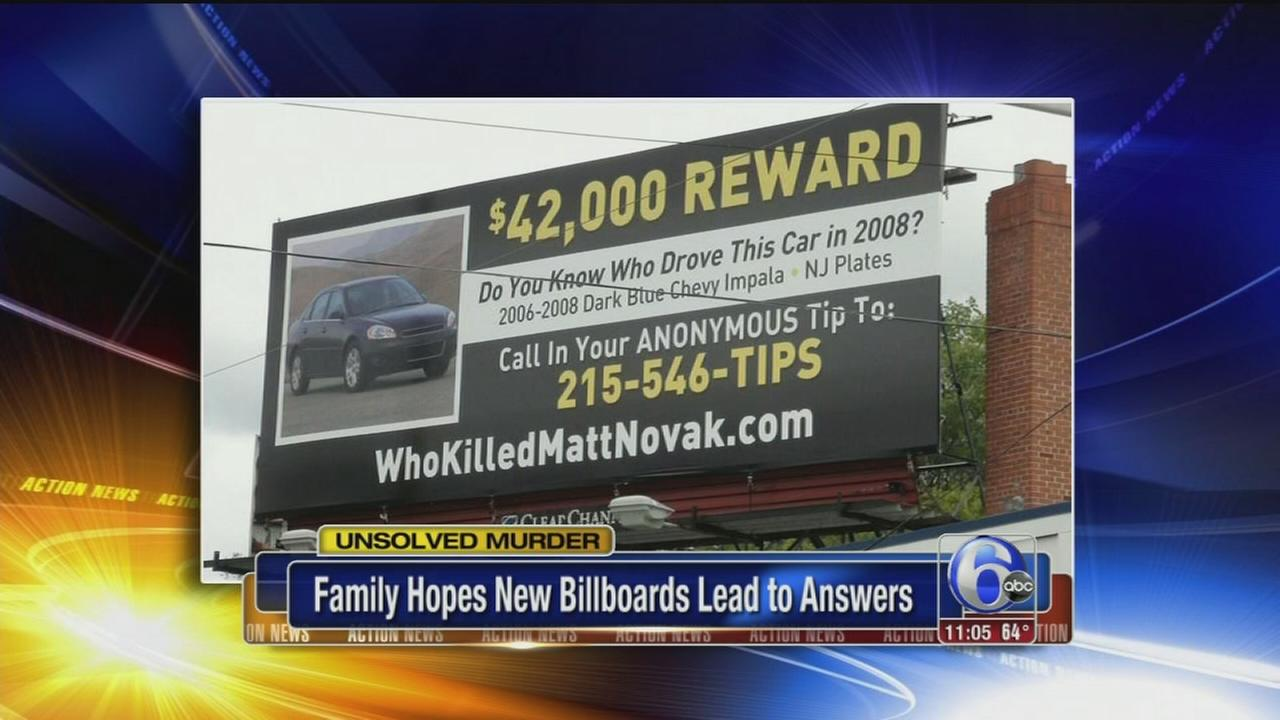 VIDEO: $42,00 reward billboard campaign