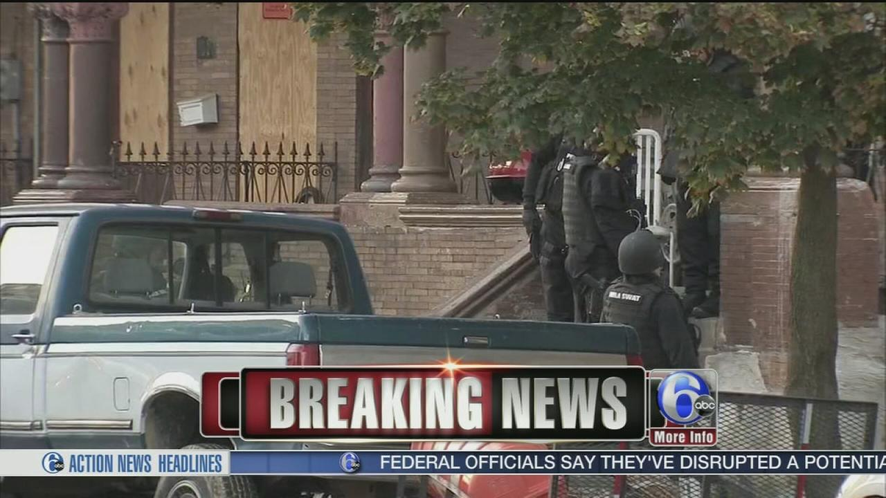 VIDEO: Suspect in custody after standoff