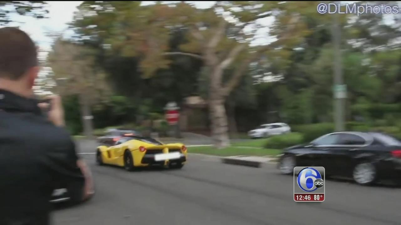 VIDEO: Drag racing terrorizes Beverly Hills