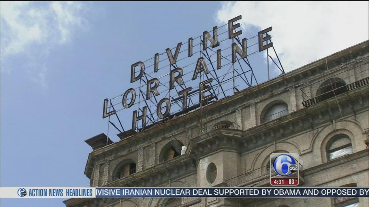 VIDEO: Groundbreaking on redevelopment of the Devine Lorraine