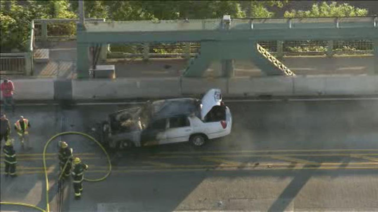 Lanes reopen on Tacony-Palmyra Bridge after car fire