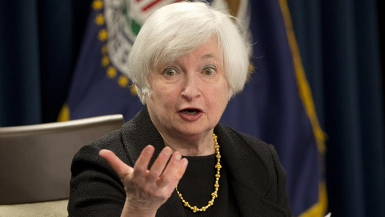 Federal Reserve Chair Janet Yellen answers questions during a news conference in Washington, Thursday, Sept. 17, 2015.