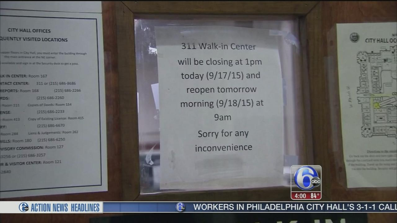 VIDEO: Bed bug sends City Hall workers home