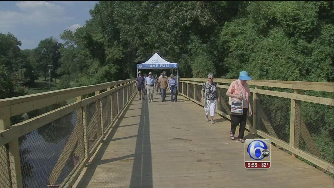 Trail extension opens