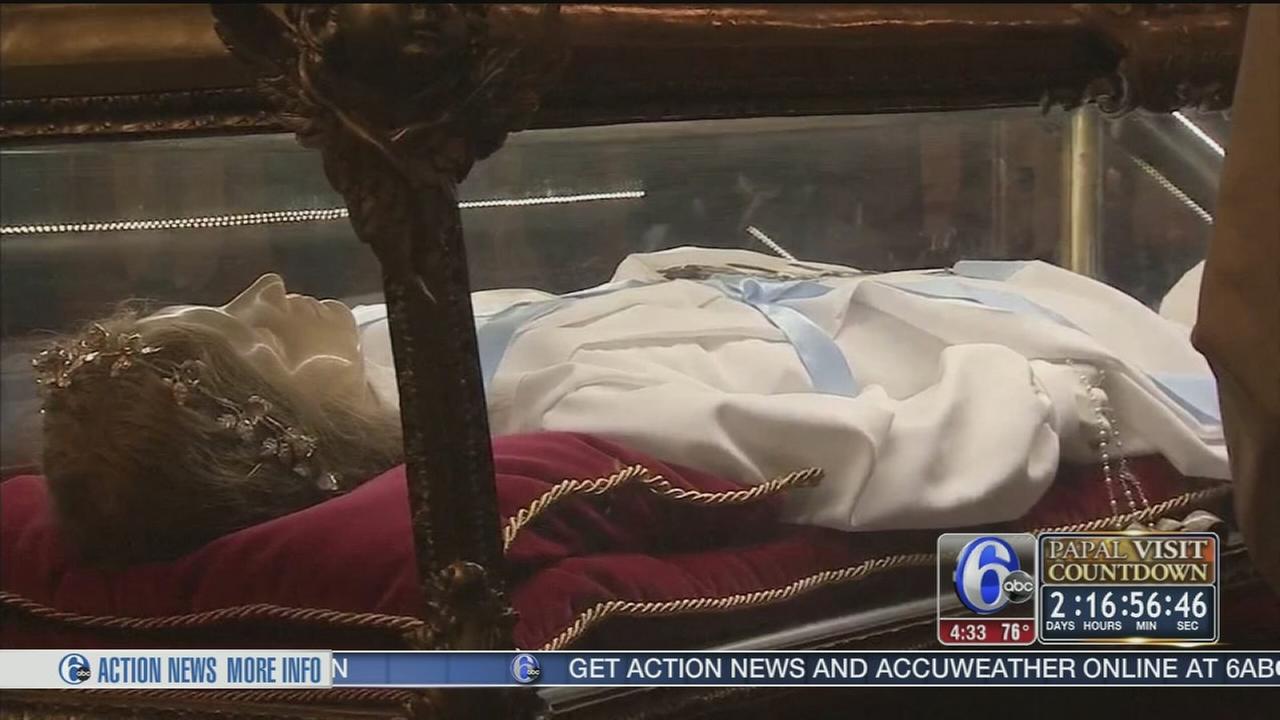 For Pilgrims Relics Of Saint Maria Goretti Serve As Symbol Of