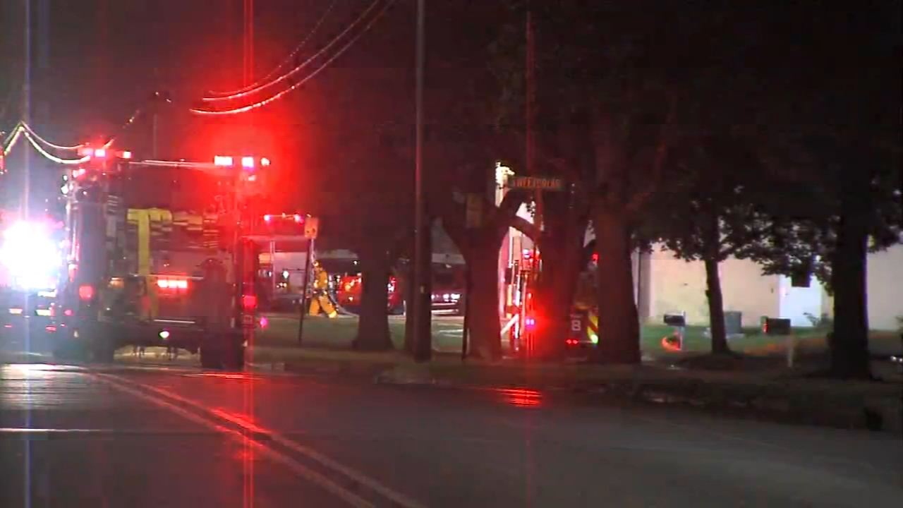 Bucks County fire crews were on the scene of a hazardous materials incident as reported during Action News at 11 on September 19, 2018.
