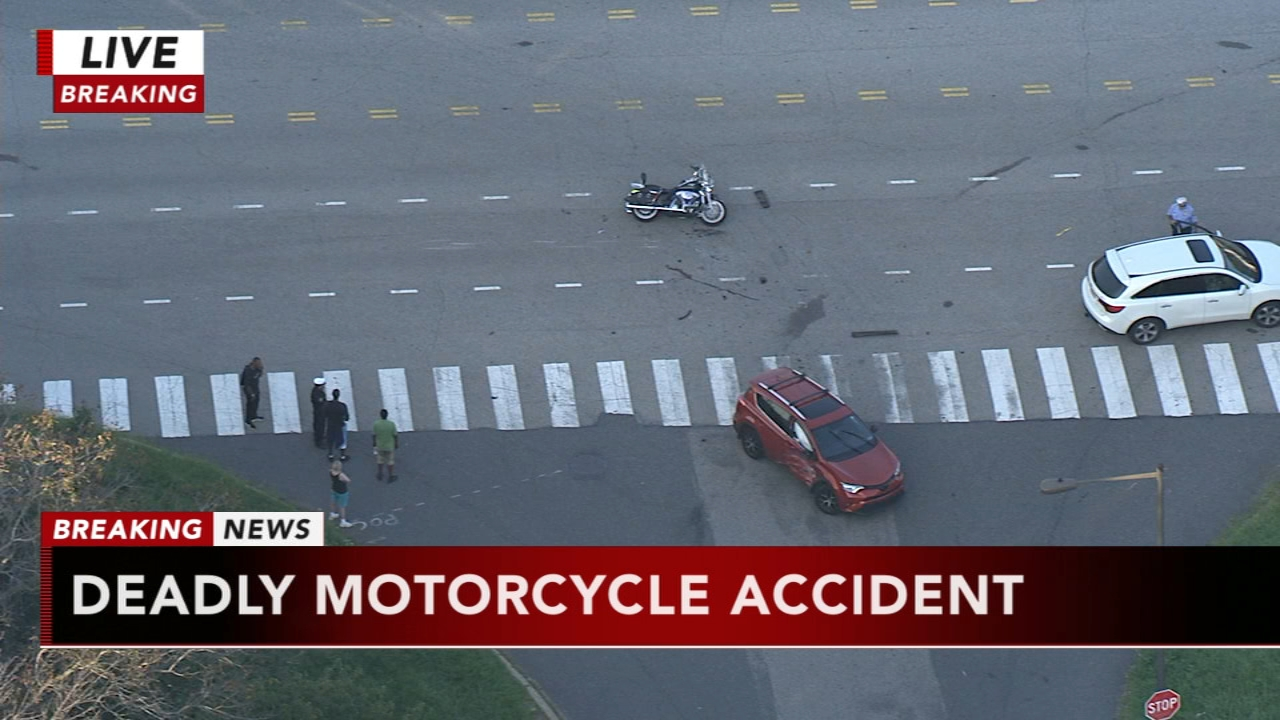 Motorcylist dead following 3 vehicle crash: as seen on Action News at 6 p.m., September 5, 2018.