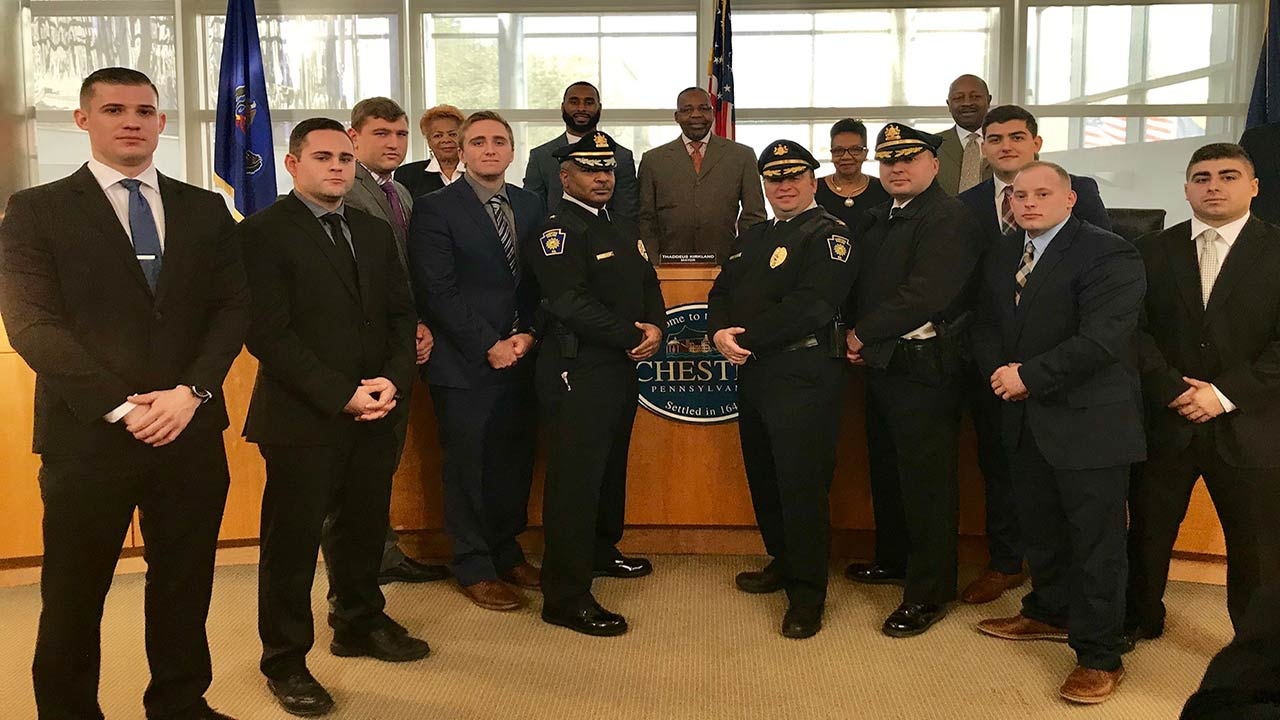 Chester Police Department welcomes 7 new officers